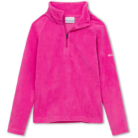 Columbia Glacial Pull Polaire Demi-zip Fille, pink ice